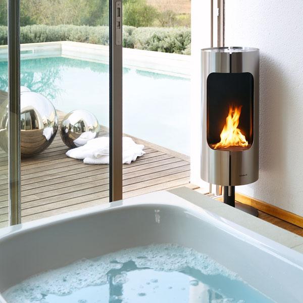 CHIMO Rotating Fireplace