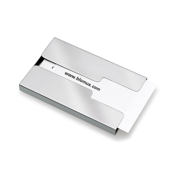 GENTS Business Card Case - Open