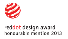 reddot design award – honourable mention 2013